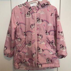 H&M Unicorn Rain Coat